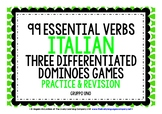 ITALIAN VERBS (1) - PRACTICE & REVISION - 3 DIFFERENTIATED