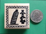ITALY Country/Passport Rubber Stamp