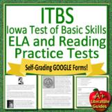 7th Grade ITBS Test Prep - Reading and Writing Iowa Basic Skills