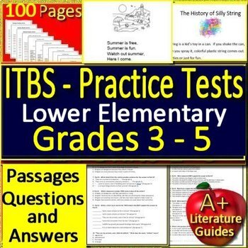 Itbs Practice Teaching Resources Teachers Pay Teachers