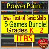 ITBS Primary Reading Test Prep Games - Grades K - 2 - Iowa Test of Basic Skills