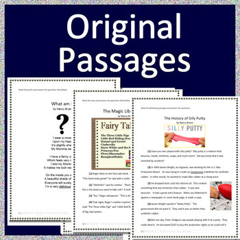 ITBS Primary Reading Tests AND Games - Grades K - 2 - Iowa Test of Basic Skills