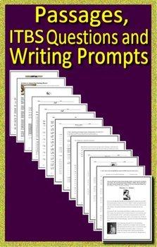 Iowa - ITBS Test Prep Bundle - ELA and Reading Practice Tests Grades 6, 7 & 8