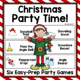 Christmas Party Games!  Six Easy Prep Games!