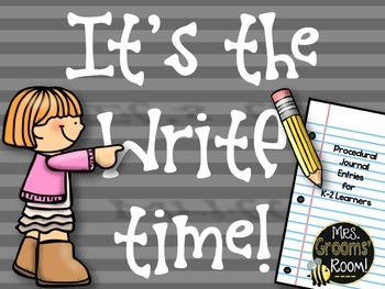 PROCEDURAL OR HOW TO WRITINGS:  It's the Write Time!