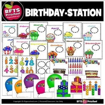 BIRTHDAY STATION - CLASSROOM CENTER