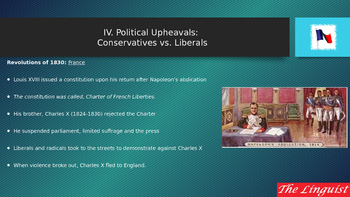 IV Political Upheavals Conservative v Liberals
