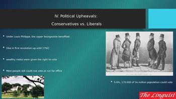 IV Political Upheavals Conservative v Liberals