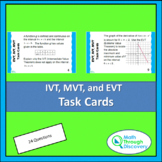 Calculus - IVT, EVT, and MVT Task Cards