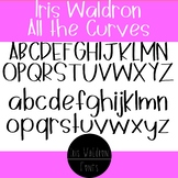 IW - All the Curves Font