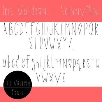 IW Font - SkinnyMini
