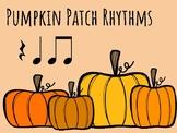 IWB Game: Pumpkin Patch Rhythms (Quarter Note, Quarter Res
