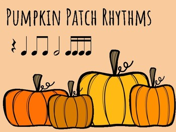 IWB Game: Pumpkin Patch Rhythms (Sixteenth Note)