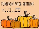 IWB Game: Pumpkin Patch Rhythms (Sixteenth Note)