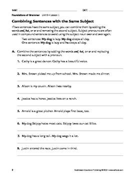 Using Pronouns in Sentences - Grammar & Usage Unit 5 (Gr 4-8)