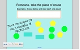 IWB Pronouns and Antecedents