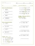 IXL Grade 8 Skills Check Scientific Notation G1-G4