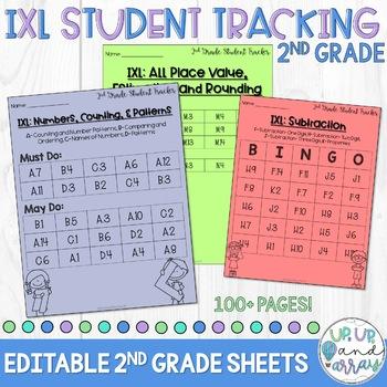 Ixl Tracking Sheet Teaching Resources Teachers Pay Teachers