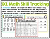 First Grade IXL Math Tracking