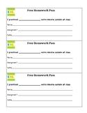 IXL PRACTICE Homework Pass