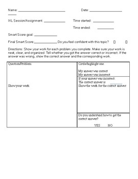 IXL Worksheets