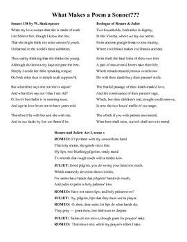 Iambic Pentameter & Writing a Shakespearian Sonnet