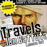 Ibn Batutta's Diaries A Travel Blog CCS Writing and Literacy Activity Set
