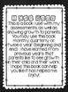 I can book: assessment checklist or portfolio item