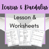 Icarus and Daedalus Lesson & Worksheet