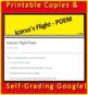 Icarus's Flight Poem BUNDLE 7th Grade HMH Collections - HRW