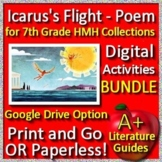 Icarus's Flight Poem BUNDLE 7th Grade HMH Collections - HRW