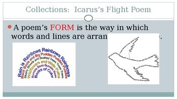 Icarus's Flight Introduction for the Poem 7th Grade HMH Collections