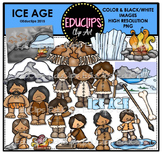 Ice Age Clip Art Bundle {Educlips Clipart}