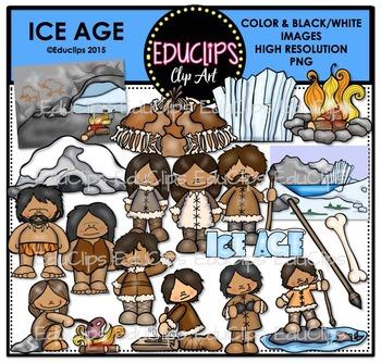 Ice Age Clip Art Bundle {Educlips Clipart}
