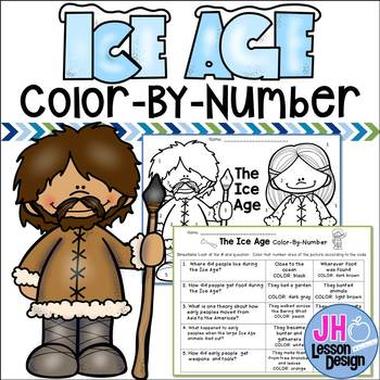 Ice Age Color-By-Number