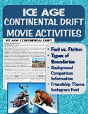 Ice Age- Continental Drift Movie Activities: Fact vs Fiction, Friendships