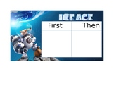 Ice Age - First, Then Board and Token Reward Board