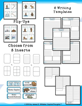 Ice Age Mini Research Fold-Ems and Interactive Activities
