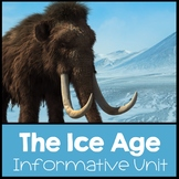 Ice Age Nonfiction Informational Text Unit