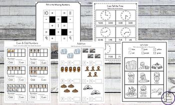 Ice Age Printable Pack