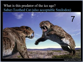 Ice Ages and Glaciers Quiz Game