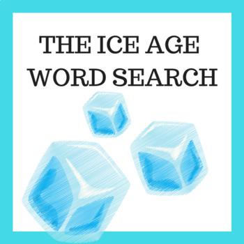 Ice Age Vocabulary