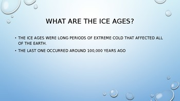Ice Ages PowerPoint