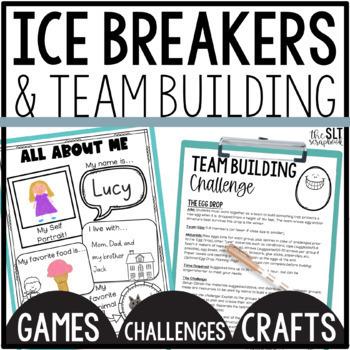 Ice Breaker & Team Building Activities for Back to school & Social skills groups