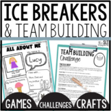 Ice Breaker & Team Building Activities for Back to school & Social skills groups