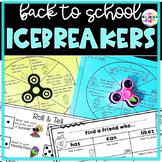 Back to School Ice Breaker Activities ~ Fidget Spin & Shar