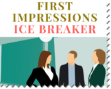 Ice Breaker Activity: First Impressions