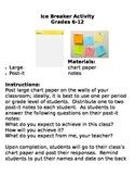 Ice Breaker Activity: Grades 6-12