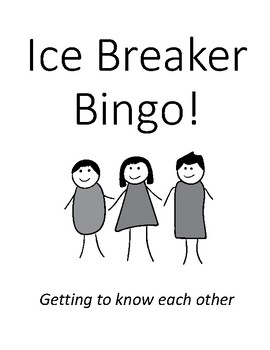 Ice Breaker BINGO!