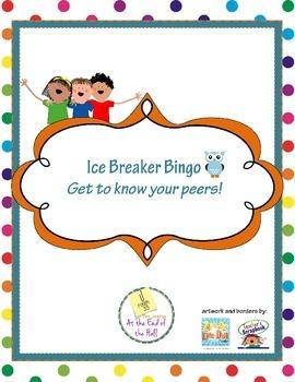 Ice Breaker Bingo Activity